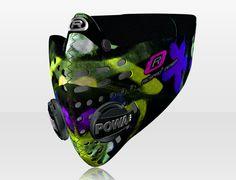 Respro® Skins™ pollution mask - GRAFFITI Pattern 2 #matchyourstyle