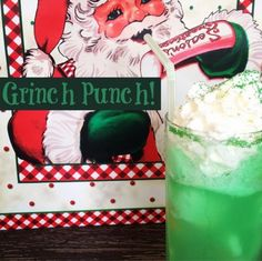 Grinch Punch WITH th