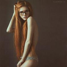 ginger, girl, hair