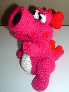 Nanette Crochet: Mario Bros Birdo