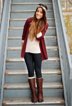 Fall Outfit w/ @Notes & Knots Headband