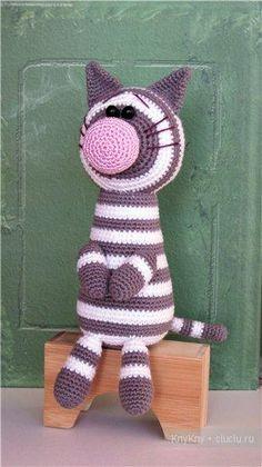 Cat Amigurumi ~ Free Russian Pattern