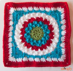 Block #5 for the Moogly Crochet Afghan