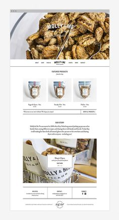 Nudge | Molly & Me | Web webdesign, web design, homepage design, molli, homepag design, pecans, websit homepag, website designs