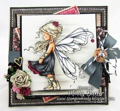 Whimsy Silver Fair stamp