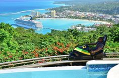 See Jamaica from hig