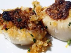 scallops with endive forno baked scallops w scallops baked scallops ...