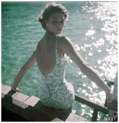 Jean Patchett by Clifford Coffin, Vogue 1950