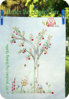 Under the Apple Tree DIY freebie