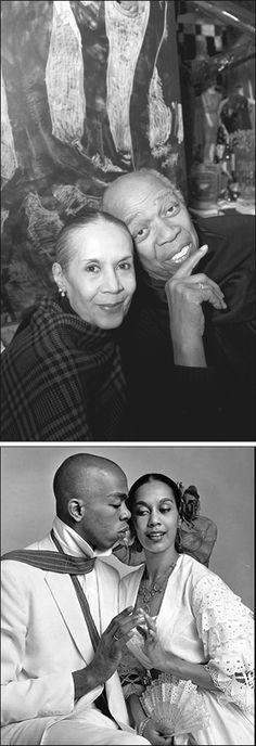 Geoffrey Holder & his wife Carmen de Lavallade married for 57 years! Would love to talk to them.