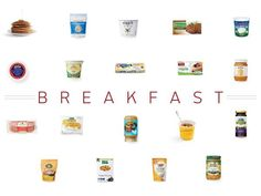 100 Cleanest Packaged Food Awards 2014:   http://www.prevention.com/food/healthy-eating-tips/100-cleanest-packaged-food-awards-2014-breakfast?s=1