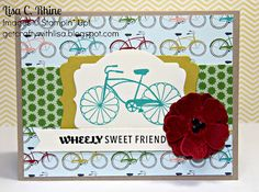 Get Crafty with Lisa:  Wheely Sweet Friend