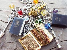 Book of Mormon charm bracelet.