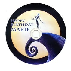 World of Pinatas - The Nightmare Before Christmas Personalized CDR (Set of 6), $12.99 (http://www.worldofpinatas.com/the-nightmare-before-christmas-personalized-cdr/)
