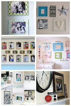 Lots of picture display ideas