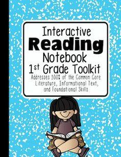 1st Grade Interactive Reading Notebook {100% Common Core Aligned}