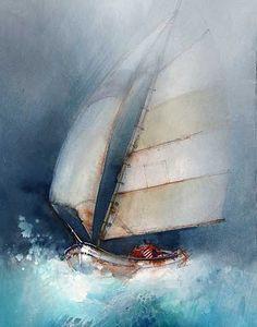 """""""Salty breeze"""" by John Lovett"""