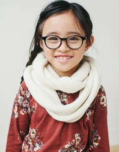 Jonas Paul eyewear makes ridiculously stylish frames for kids. The company was started by Ben and Laura Harrison after their son, Jonas Paul, was born with a rare visual impairment.