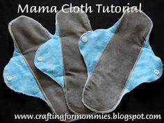 An easy DIY mama cloth tutorial using PUL. sew, mama cloth, tutorials, cloth pad, liner tutori, cloth diaper, mamacloth, cloth tutori, cloth liner