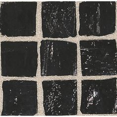 American Olean 12-in x 12-in Solare Coal Glass Wall Tile ~~This!!!!!
