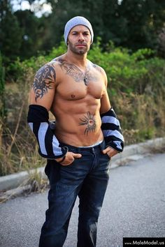 tattoo men, muscl, sexi, ryan steel, booti call, hot guy, tattoo man, dimpl, male models