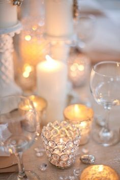 lovely peaceful table setting