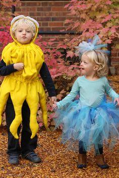 halloween costumes, costum idea, ocean costum