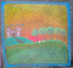 Waldorf ~ 1st grade ~ Letter: T ~ Tower & Trees
