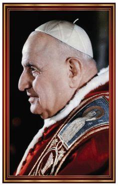 Saint Pope John XXIII Prayer Card --  also available in Spanish. #JohnXXIII #saint