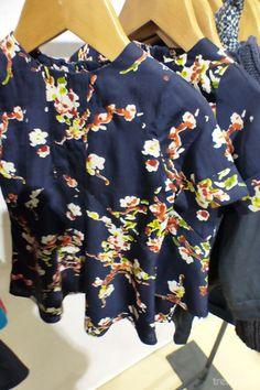 Sweet floral shirts