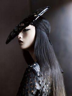 Avant garde hat