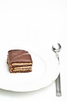 """Brick"" chocolate cake"