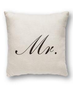 'Mr.' Throw Pillow