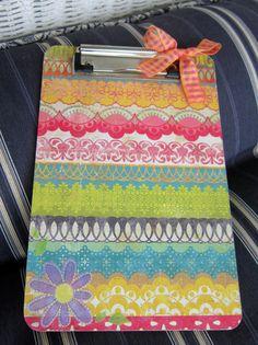 cute clipboard! Want :)