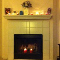 My fireplace!