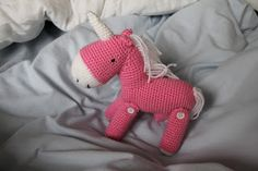 the Pink Unicorn Dancing free pattern