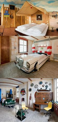 Car themed hotel
