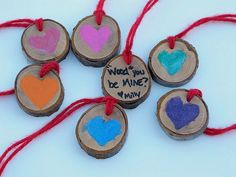 """wood"" you be my valentine...so cute.  I wish I'd planned better ahead of time and not the night before.  I'm finding so many cute ideas."