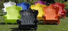 Life's too short for boring lawn chairs.