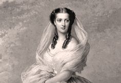 Alexandra of Denmark , Queen Consort King Edward VII, as Princess of Wales. She was a beauty.