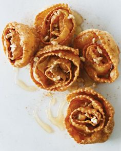 Spiral Fritters with Honey Recipe