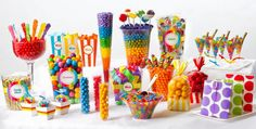 Rainbow Candy Buffet - Party City