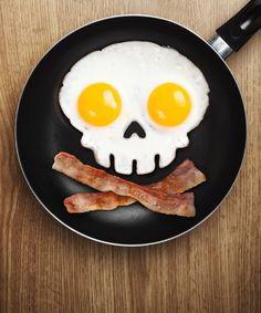 Skull-Shape Egg Frame