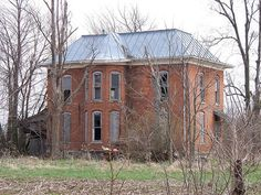 OH Mt Blanchard - Abandoned House 2 by scottamus on Flickr.