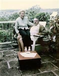 hemingway and mary at hemingway's cuba, or finca vigia, as his former home-turned-museum is called. (havana) #travelcolorfully