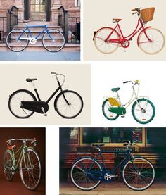 Best City Bikes & Easy Rides 2014: Spend summer on a cycle by @Erin B B Hiemstra / Apartment 34