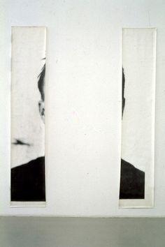 erasing:    The Ears of Jasper Johns | Michelangelo Pistoletto  Photo by P. Pellion