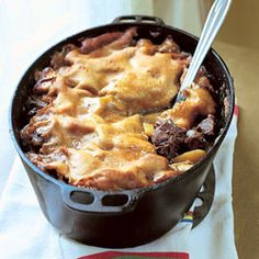 Cipaille. Pronounced Sea Pie. It's a meaty layered mixed meat stew ...