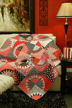 Red & Black Licorice by Tina Curran, featured in Quilters Newsletter's Best Fat Quarter Quilts 2012