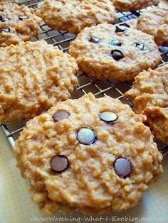 High protien Peanut Butter Banana Oat Breakfast Cookies